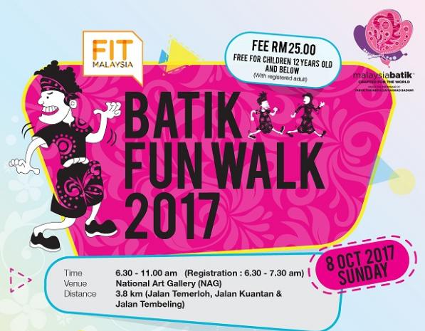 Batik Fun Walk 2017