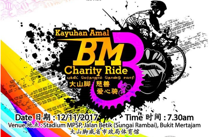Bukit Mertajam Charity Ride 3.0 2017