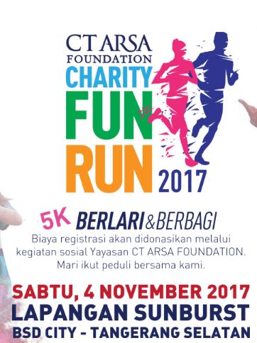 CT Arsa Foundation Charity Fun Run 2017