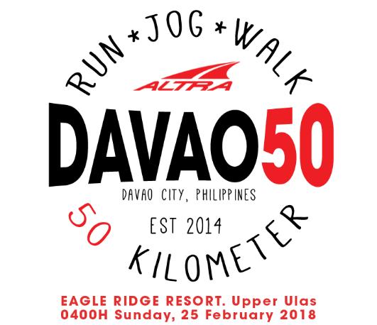 DAVAO50 Ultramarathon 2018