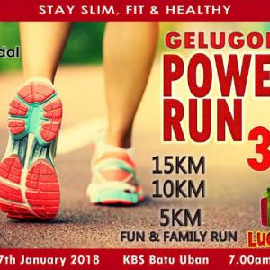 Gelugor Power Run 3 2018