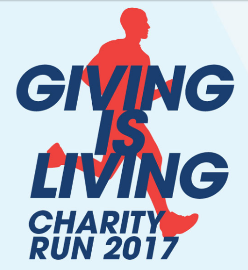 Giving is living charity run 2017 just run lah for Generous living