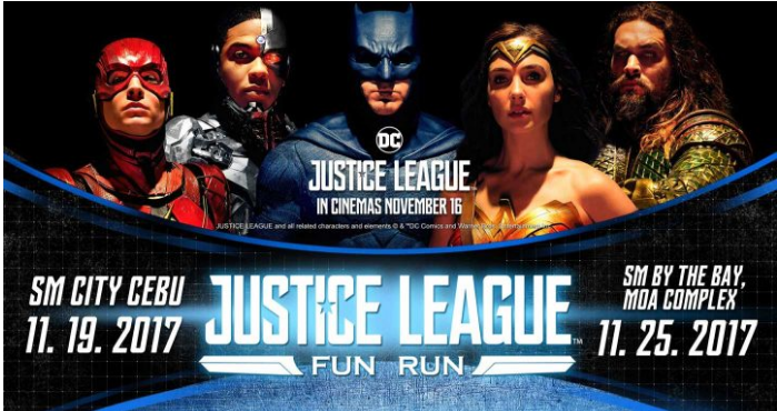 Justice League Fun Run PH 2017 – Cebu City