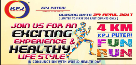 KPJ Puteri Fun Run 2017
