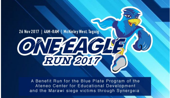 Ateneo One Eagle Run 2017