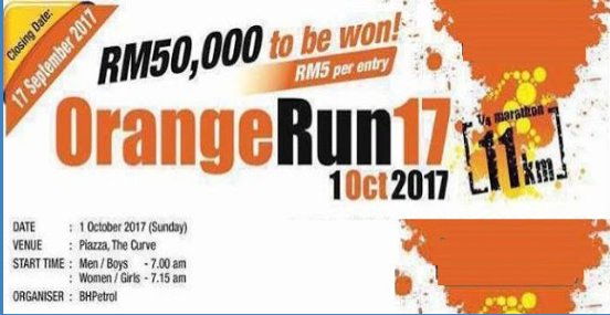 Orange Run17 by BHPetrol 2017