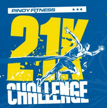 Pinoy Fitness 21K Challenge 2017