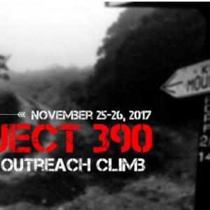 PROJECT 390: Mt. Ugo Outreach Climb 2017