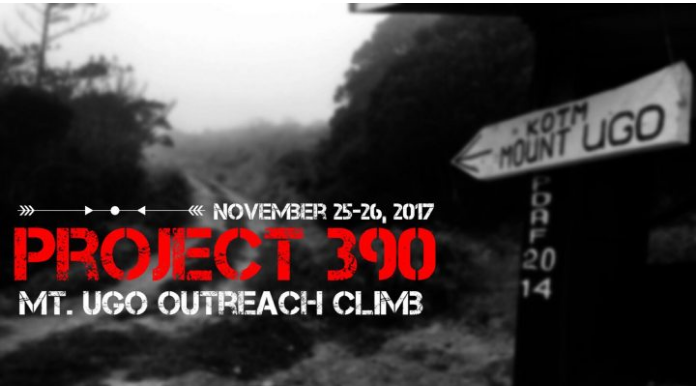 PROJECT 390: Mt. Ugo Outreach Climb 2017