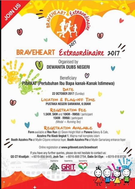Braveheart Extraordinaire Run 2017