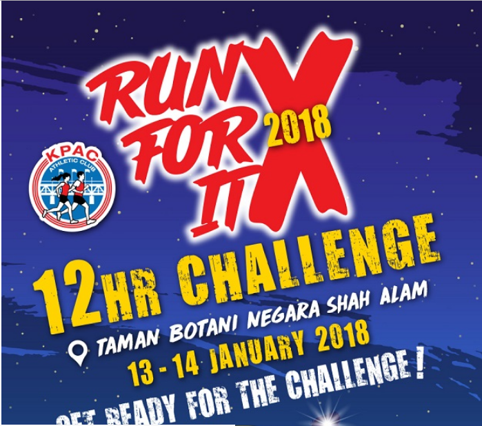 Run For It X 2018 12 Hour Challenge 2018