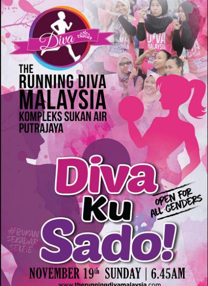 The Running Diva Malaysia | Divaku Sado 2017