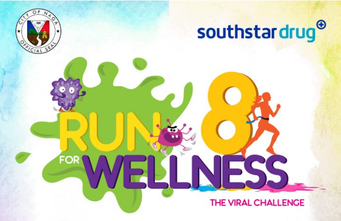 Southstar Drug Run For Wellness 8 in Naga City 2017