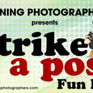 Running Photographers Strike a Pose Run 2017