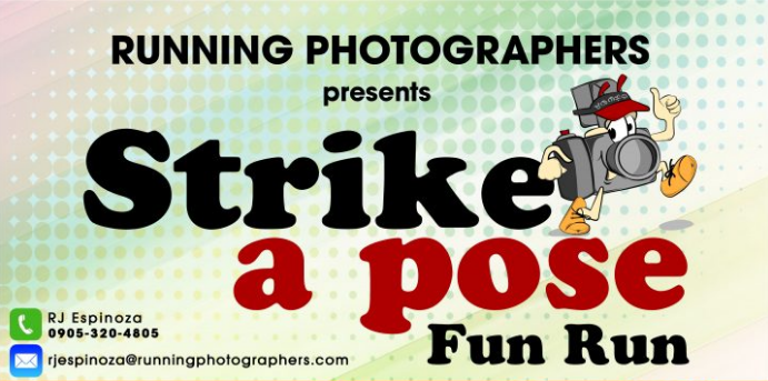 Running Photographers Strike a Pose Run 2017