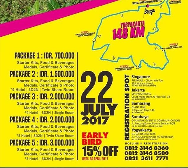 Tour de Ambarukmo 2017