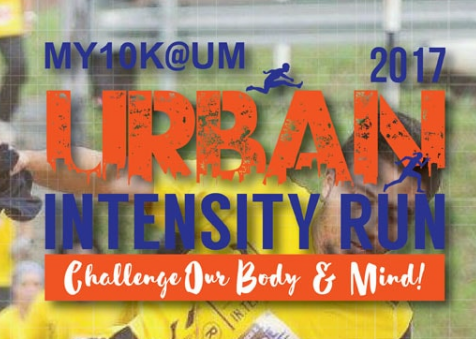 MY 10K@UM Urban Intensity Run 2017