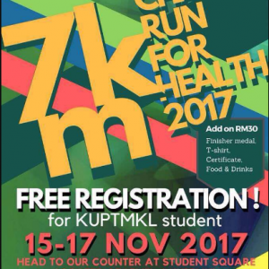 7km Charity Run For Heart 2017