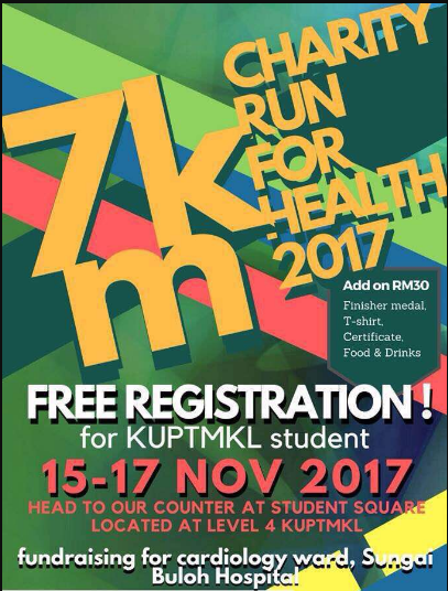 7km Charity Run For Heart 2017