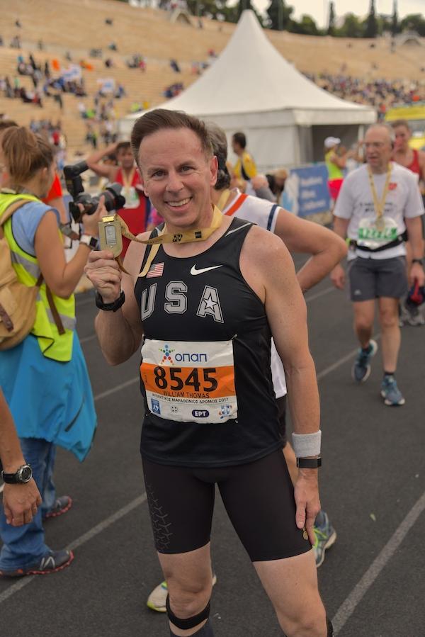 Athens Marathon Finish