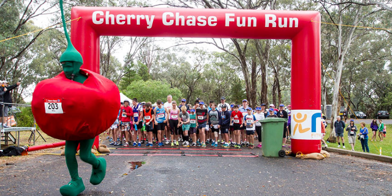 Cherry Chase Fun Run & Chase the Colour 2017