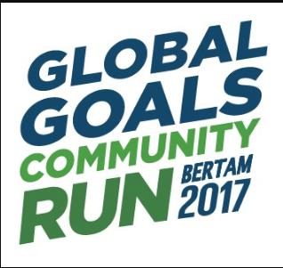 Global Goals Community Run Bertam 2017