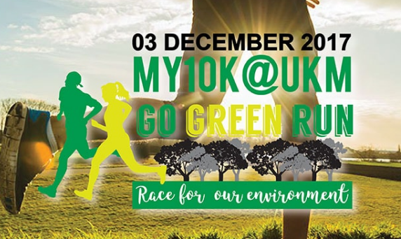 MY 10K@UKM Go Green Run 2017