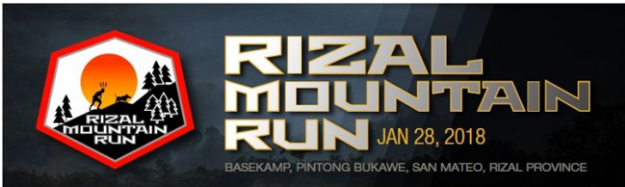 Rizal Mountain Run (RMR) 2018
