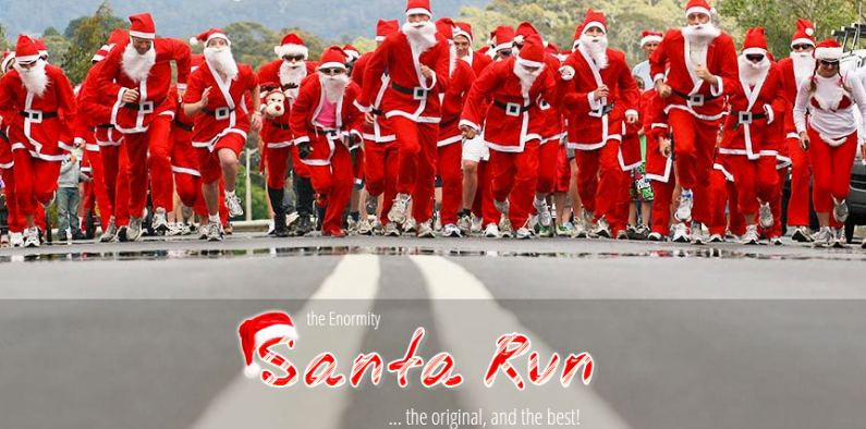 The Santa Run: Devonport 2017