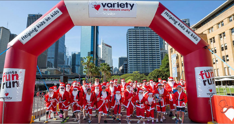 Variety Santa Fun Run: Darwin 2017