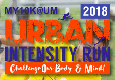 MY 10K@UM Urban Intensity Run 2018