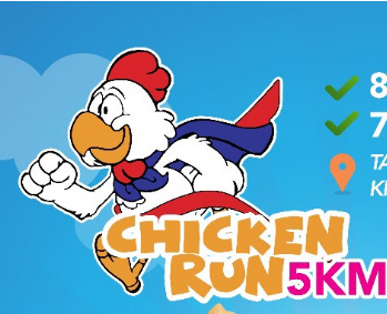 Chicken Run – 5km 2018
