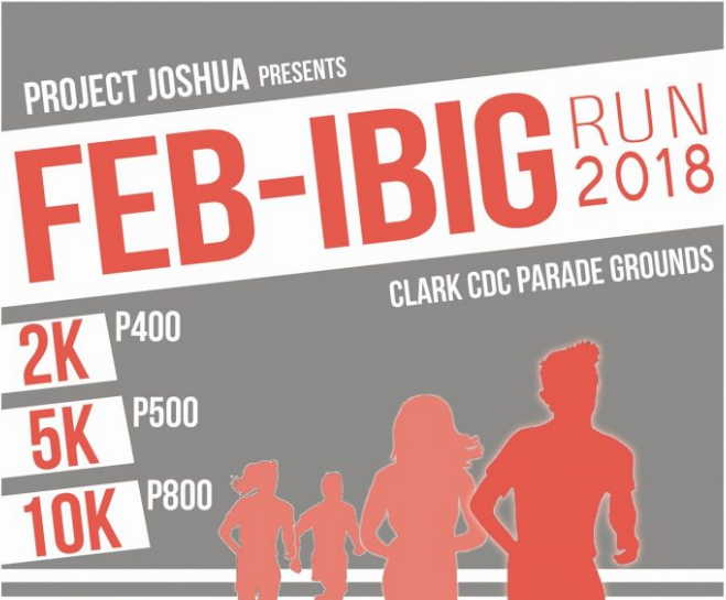 Clark Feb-IBIG Run 2018