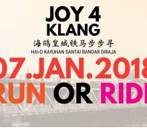 Joy 4 Klang Run Or Ride 2018