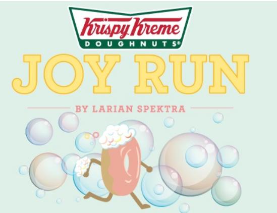 Krispy Kreme Joy Run by Larian Spektra 2018