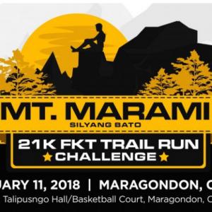 2nd Mt. Marami 21K FKT Trail Run Challenge 2018
