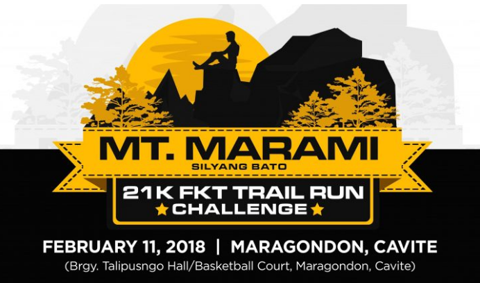 2nd Mt. Marami 21K FKT Trail Run Challenge 2018
