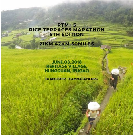 Rice Terraces Marathon 2018