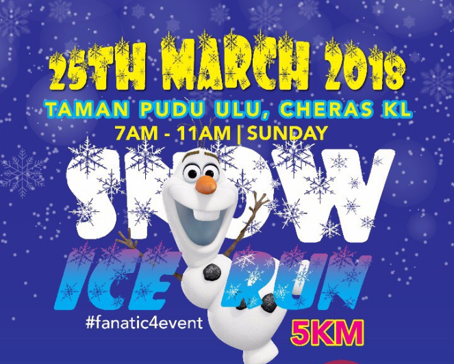 Snow Ice Run – 5km 2018