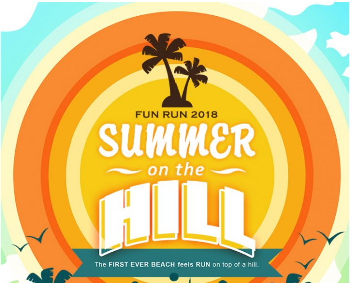 Summer On The Hill Fun Run 2018