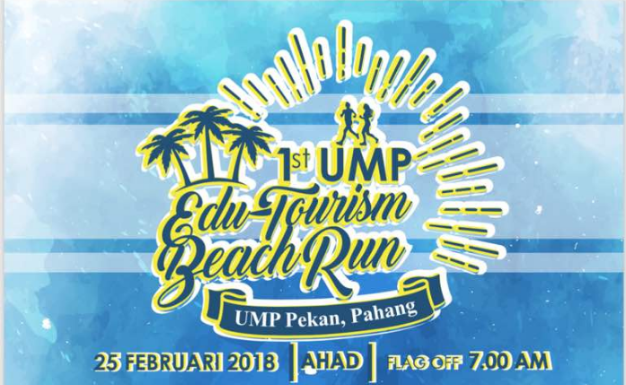 1st UMP Edu-Tourism Beach Run 2018