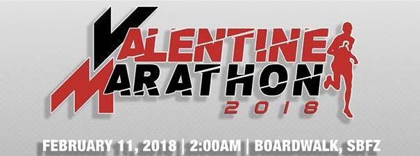Valentine Marathon 2018