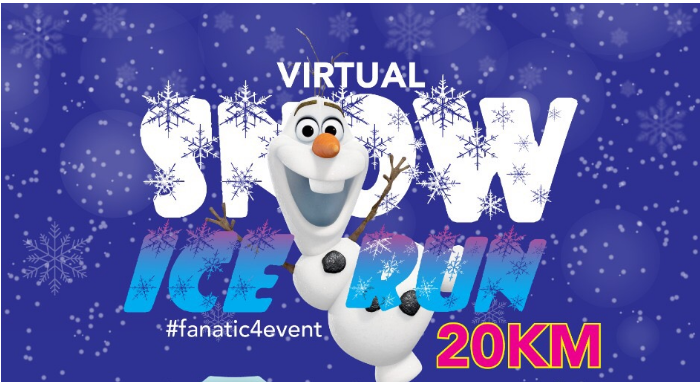 Virtual Snow Ice Run (20km)