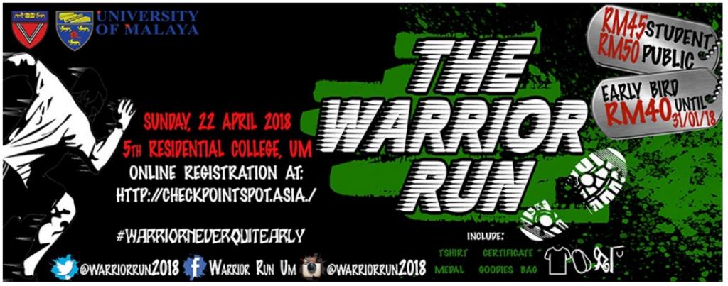 the warrior run 2018 just run lah. Black Bedroom Furniture Sets. Home Design Ideas