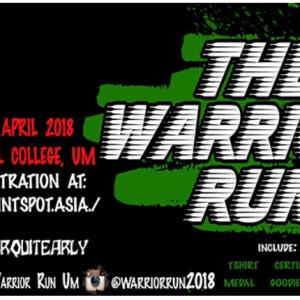 The Warrior Run 2018