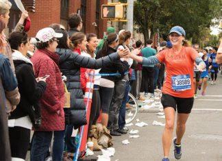 NYC Marathon Spectators