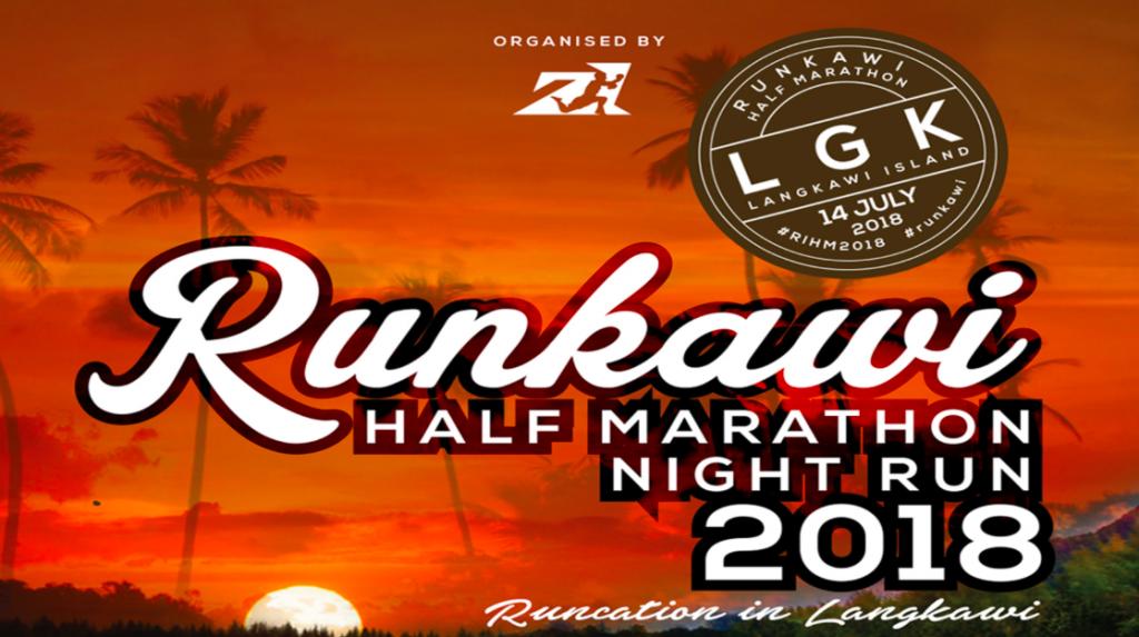 Runkawi Half Marathon Night Run 2018