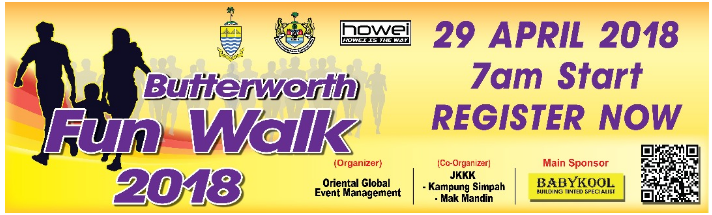 Butterworth Fun Walk 2018