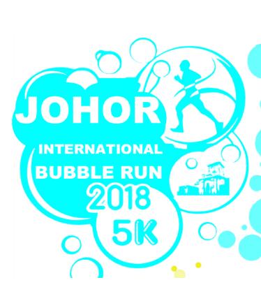 Johor International Bubble Run 2018