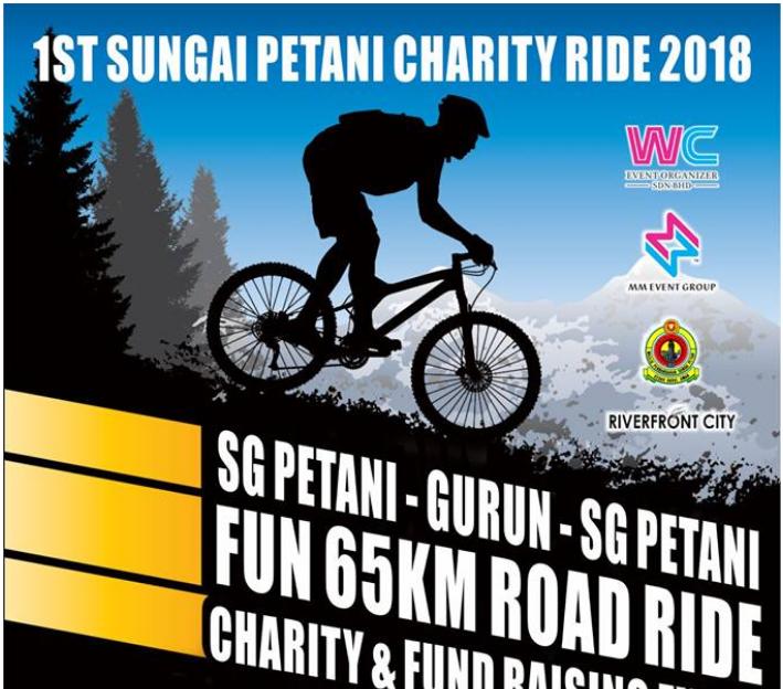 Sungai Petani Charity Ride 2018